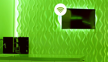 Video-und Audiostreaming per Funk - Smart Home