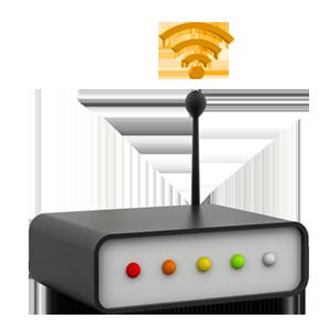 Internetzugriffskontrolle nach Zeit und Volumen